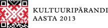 Kultuuripärandi aasta logo
