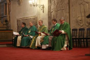 5 vast ordineeritud preestrit Foto: Ingrid Mäsak