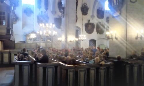 Palverännaku alguspalvus Tallinna Toomkirikus